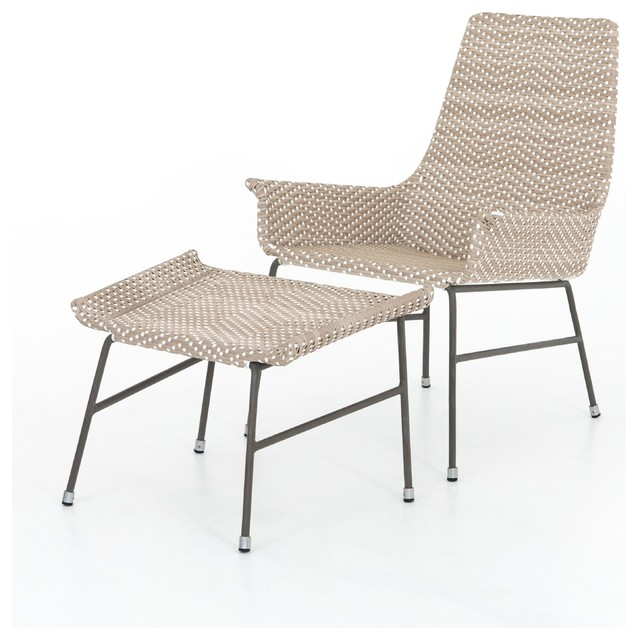 Excellent Artemis Outdoor Chair Ottoman Inzonedesignstudio Interior Chair Design Inzonedesignstudiocom