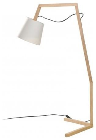 Bellila Oud Floor Lamp, White.