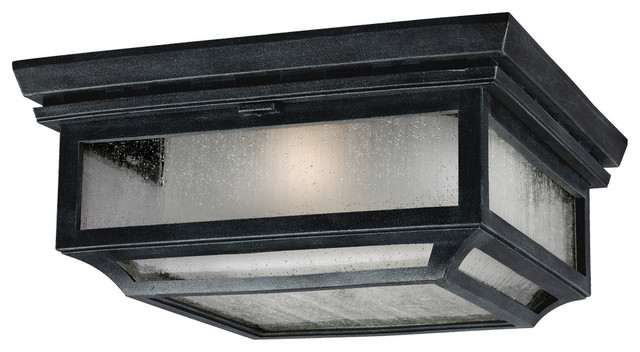 Shepherd Outdoor Flush Ceiling Light