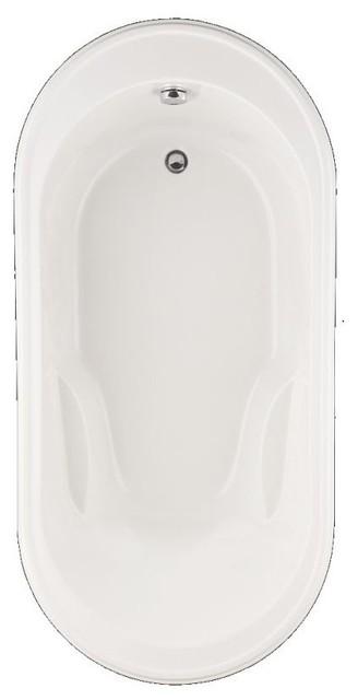 "American Standard Bathtub Heritage, White, 40.5""x76""x27.5""."