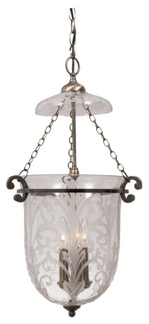 Crystorama camden wrought iron etched glass bell jar pendant crystorama camden wrought iron etched glass bell jar pendant aloadofball Image collections