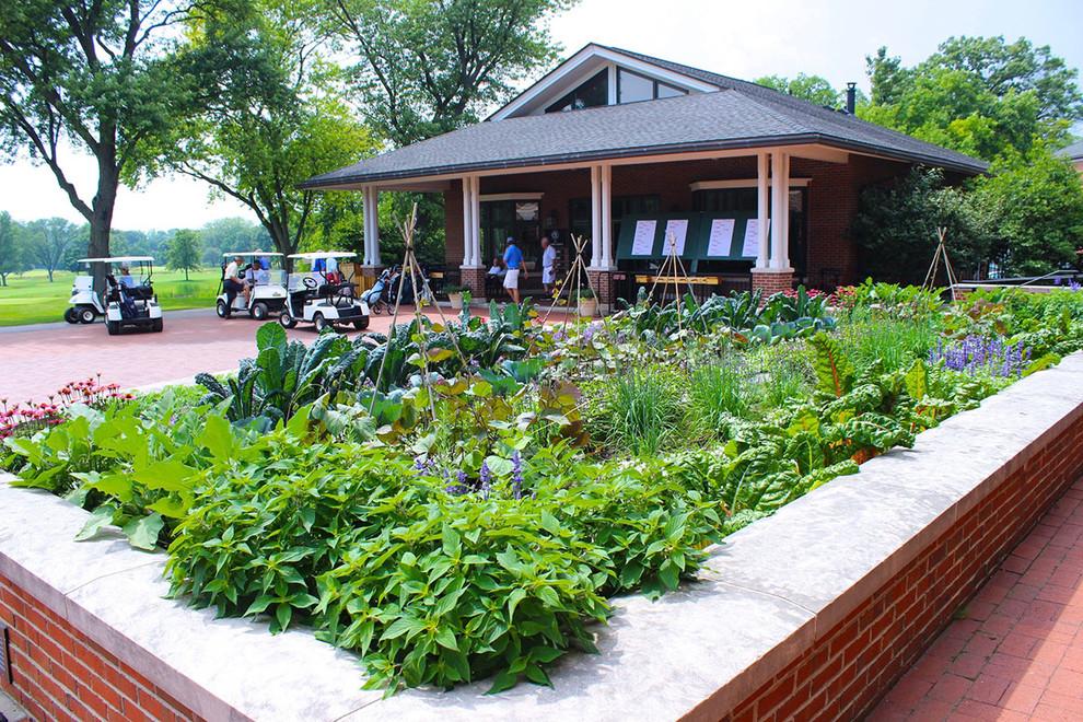 Raised Vegetable Garden, Herbs and Flowers