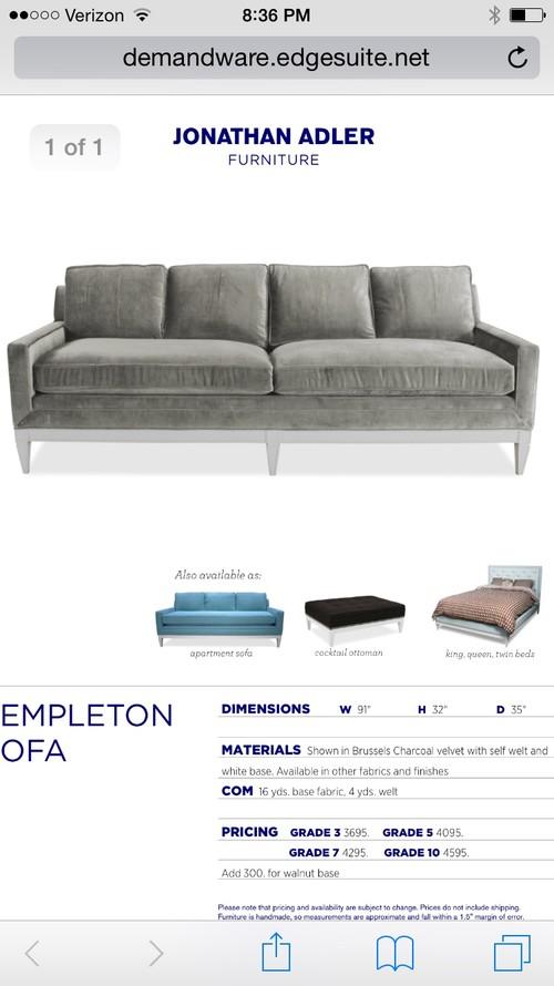 Help Me Design A Room Around This Sofa