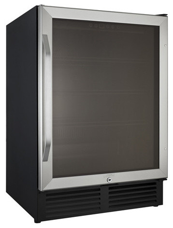 "24"" Ada Compliant Beverage Cooler With 5.0 Cu. Ft.."