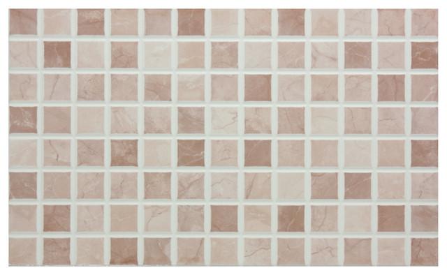 Mosaic Tiles, Gloss Beige, Set of 5 m²
