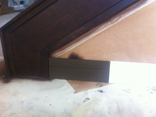 what is the best brown mahogany paint color for baseboards not stain