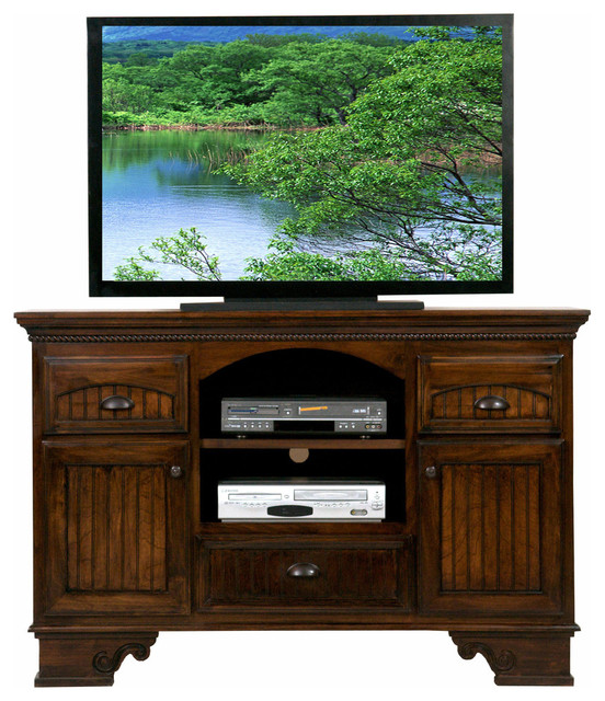 """Traditional Furniture Manufacturers: Eagle Furniture American Premiere 58"""" Entertainment"""