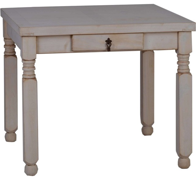 Whitewashed Mexico Dining Table