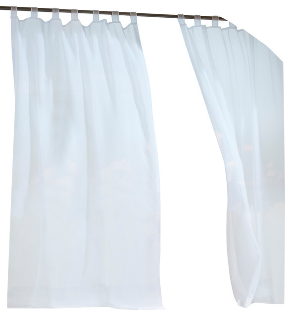 Escape Indoor Outdoor Hook And Loop Tab Top Curtain Panel Traditional Curtains By