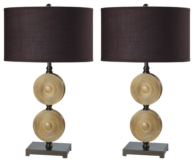 Rodney Elegant 27.5&x27;&x27; Table Lamps, Set Of 2.
