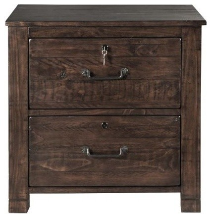 rustic file cabinet magnussen pine hill lateral file cabinet rustic pine 25741