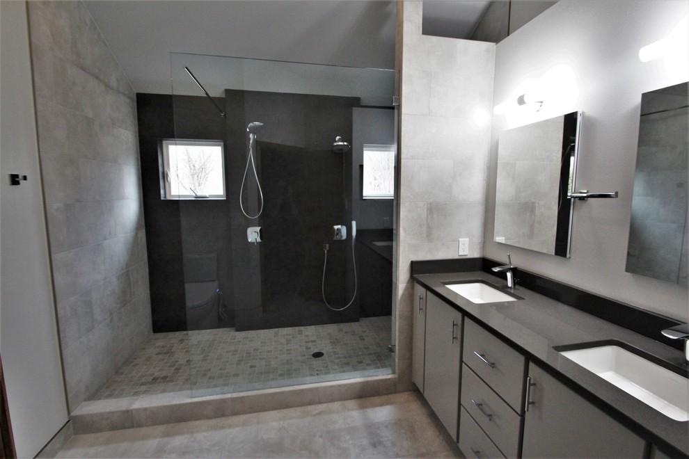 Neolith Iron Grey Shower
