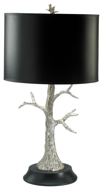 Awesome Cyan Design Silver Tree Traditional Table Lamp Contemporary Table Lamps