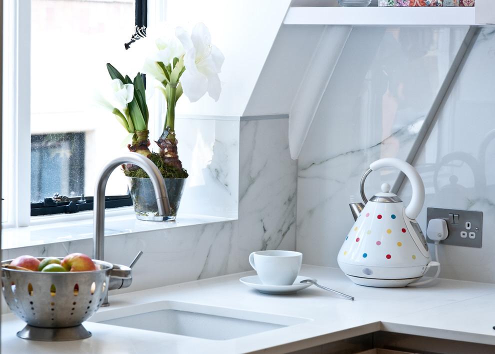 Esempio di piccoli case e interni minimal