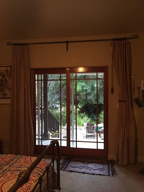 I Need Help With Window Coverings For My Bedroom Sliding Door