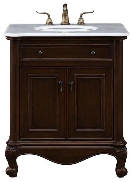 Luxe 30 Single Bathroom Vanity Set