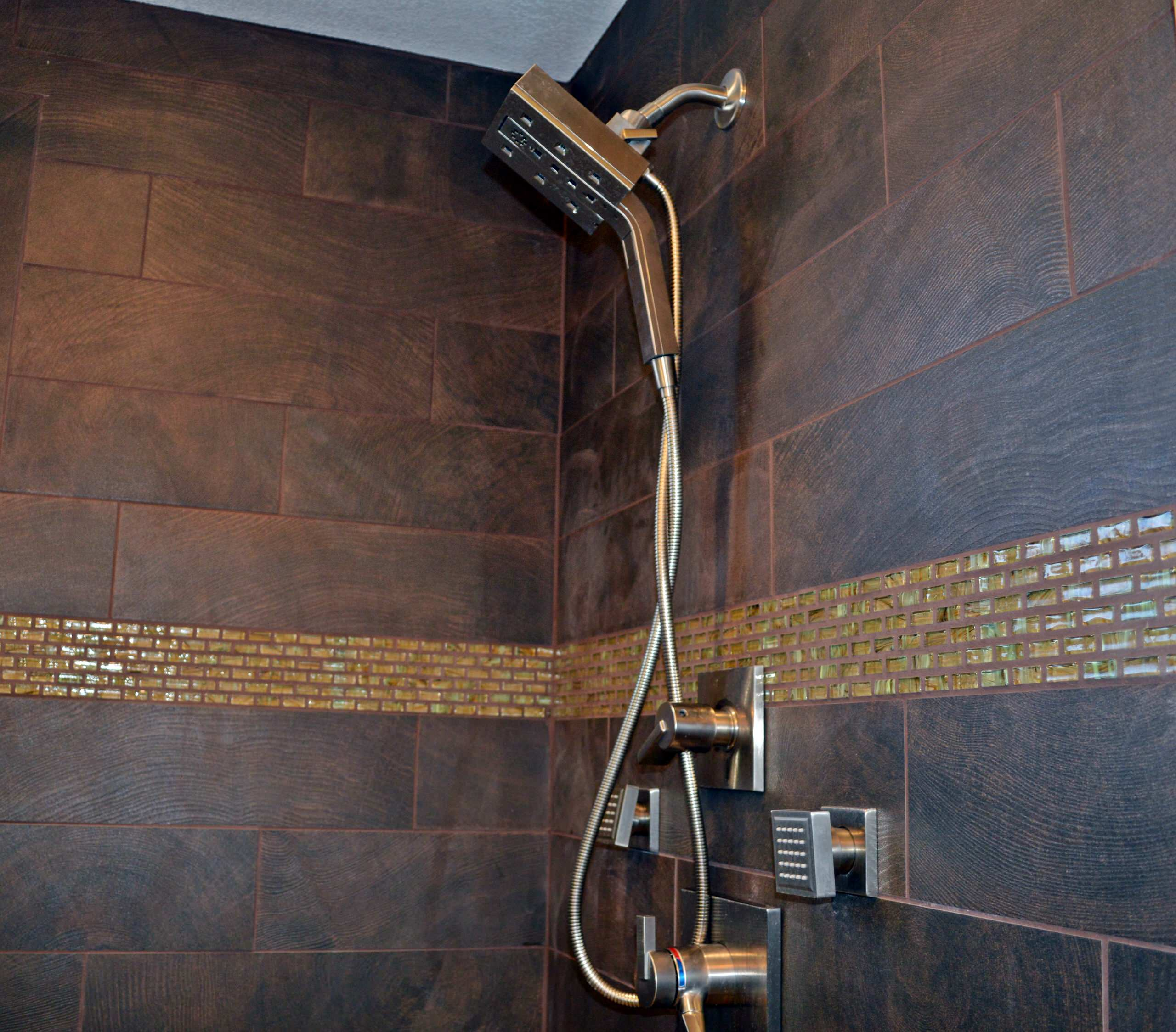 Organic Contemporary Master Bath in Arvada