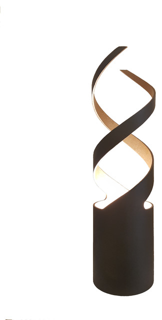 Black and Copper DNA Table Lamp