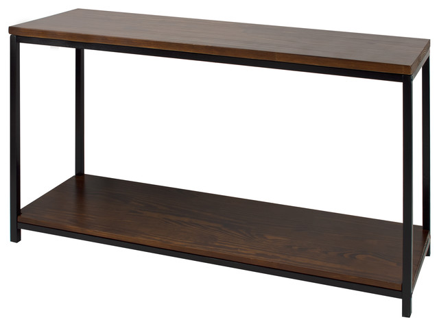 Casual Home Metro Console Table Industrial Console Tables
