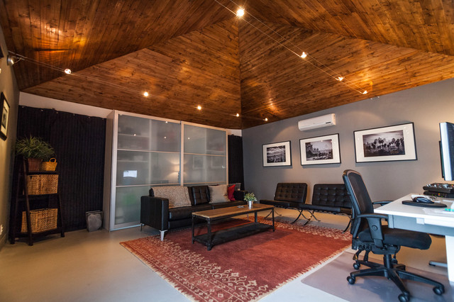 Garage Studio Conversion transitional
