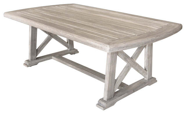 Courtyard Casual Driftwood Gray Teak Surf Side Outdoor ...