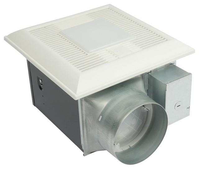 panasonic whispergreen 0.6-sone 150-cfm bathroom fan with light