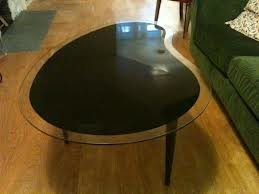 Searching for Glasstop Kidney Shaped Coffee Table