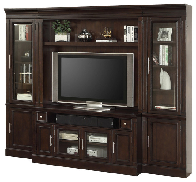 Home Entertainment Spaces: Stanford Space Saver Entertainment Center, Vintage Sherry