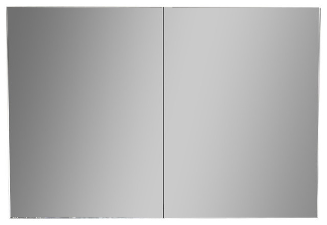 "23""x35"" Surface Mount Medicine Cabinet, Dark Espresso."