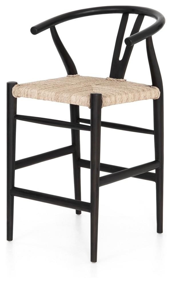 Excellent Carlisle Counter Stool Black Teak Unemploymentrelief Wooden Chair Designs For Living Room Unemploymentrelieforg