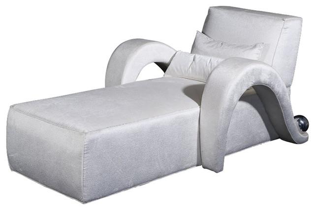 Vgnewtrend Rinomato Chaise Longue, White.