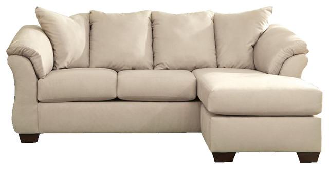 Darcy Sofa Chaise, Stone