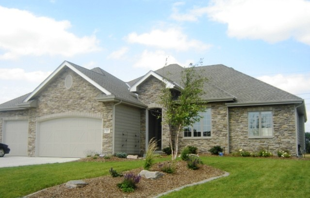 Exterior landscaping inspiration for Exterior remodel and design omaha