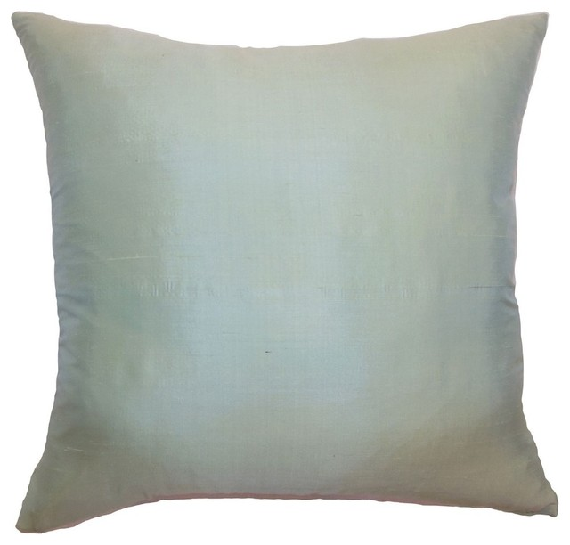 Decorative Pillows Plain : Constance Plain Pillow Seafoam - Contemporary - Decorative Pillows - by The Pillow Collection
