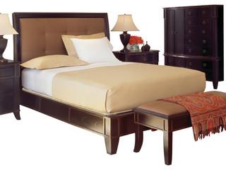 metropolitan queen bed set transitional bedroom furniture sets