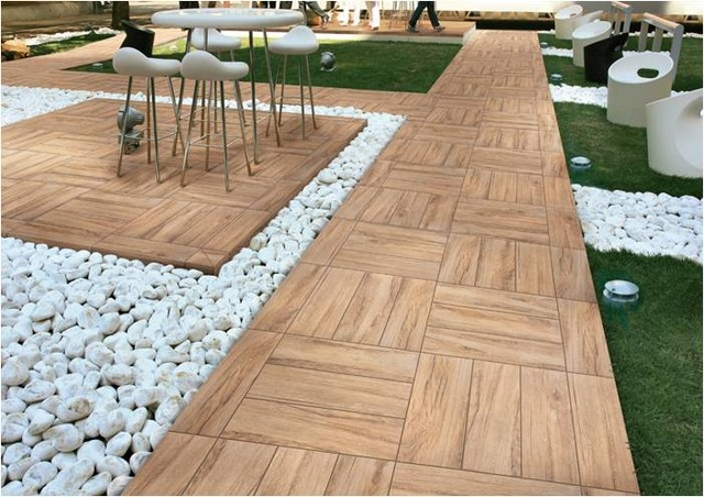 Appealing Outdoor Tile - Contemporary - Other - by Tiles Unlimited ...