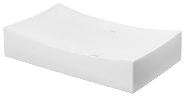 "Ronbow Bathroom Sinks ronbow status 26"" above counter ceramic bathroom vanity vessel"