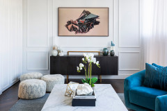 Apartment Makeover: From a Blank Canvas to Nautical Luxe