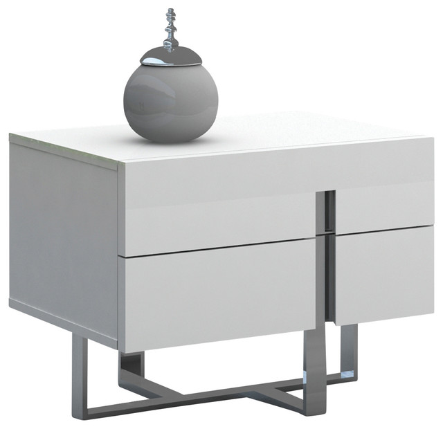 collins collection nightstand/end tablecasabianca home Modern Nightstands