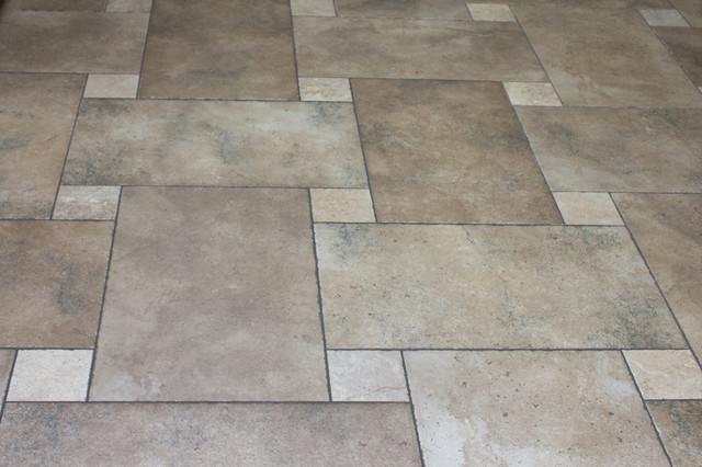 Old World Charm Materia Forte Floor Tile Chiseled Edges