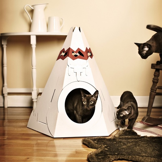 Pets Get The Scoop On High Design Litter Boxes