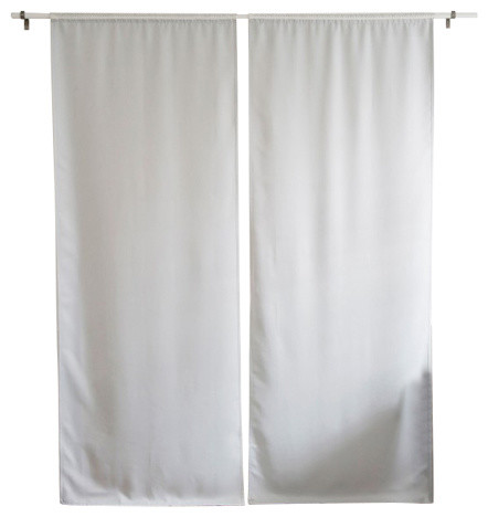 Blackout Liner Contemporary Curtains By Best Home Fashion