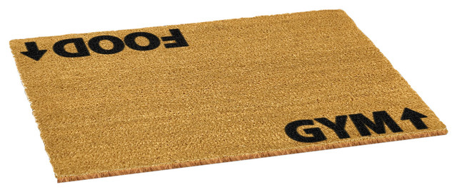 Directions to Gym or Food Doormat