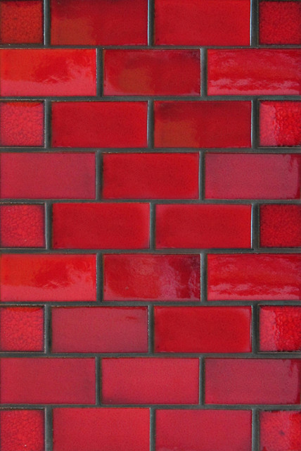 2 X4 Subway Tile In Matador Red Color Discontinued