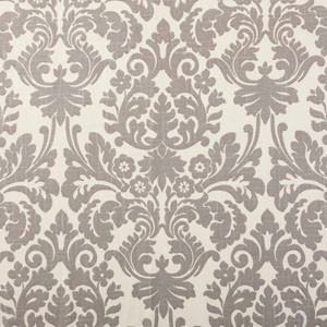 Designer Roman Shades Plain Fold, 26wx36h, Essence Smoke.