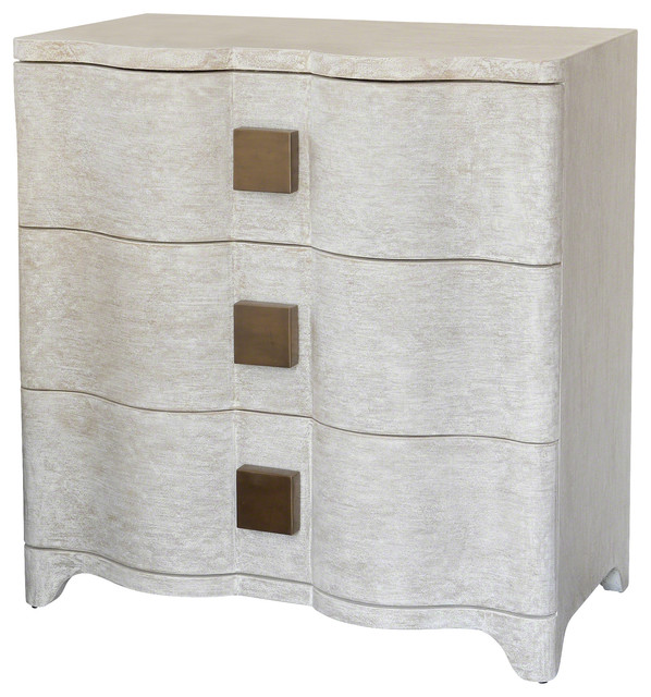 Global Views Toile Linen Chest