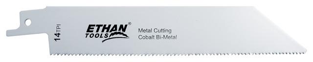 Bi-Metal Reciprocating Blades, 2-Piece, 6 X 1, 14tpi.