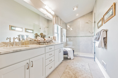 Master Bathroom in Rochester NY Custom Home