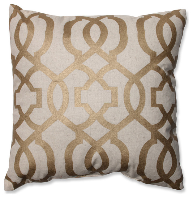 Geometric Throw Pillow Contemporary Decorative Pillows By Pillow Perfect Inc Houzz