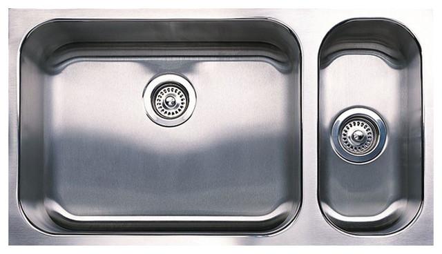 Blanco Spex Plus Undermount Double-Bowl Kitchen Sink.